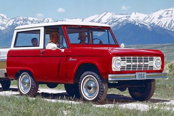 1967 Ford Bronco Wagon