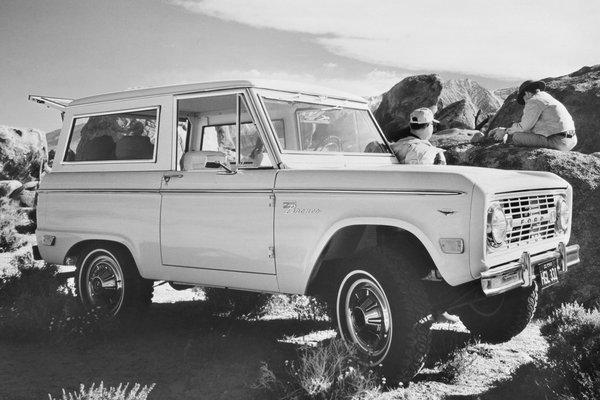 1968 Ford Bronco Wagon