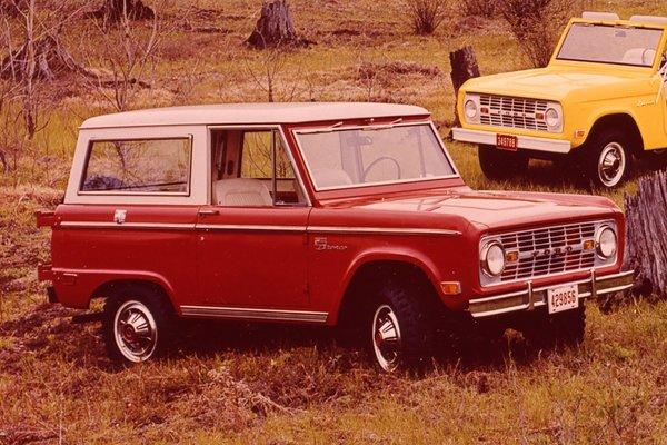 1969 Ford Bronco Wagon