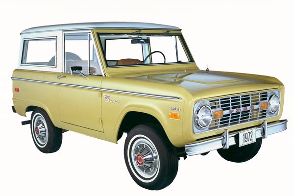 1972 Ford Bronco Wagon