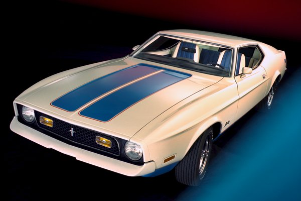 1972 Ford Mustang fastback Sprint edition