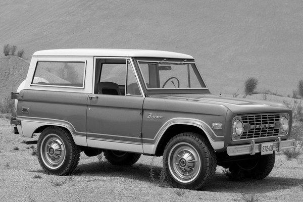 1974 Ford Bronco Wagon