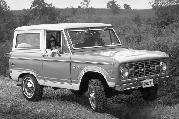 1975 Ford Bronco Wagon