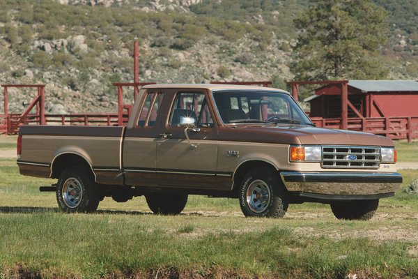 1987 Ford F-Series Supercab
