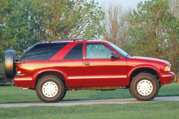 1996 GMC Jimmy 2d