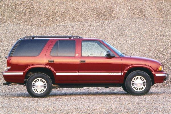 1996 GMC Jimmy 4d