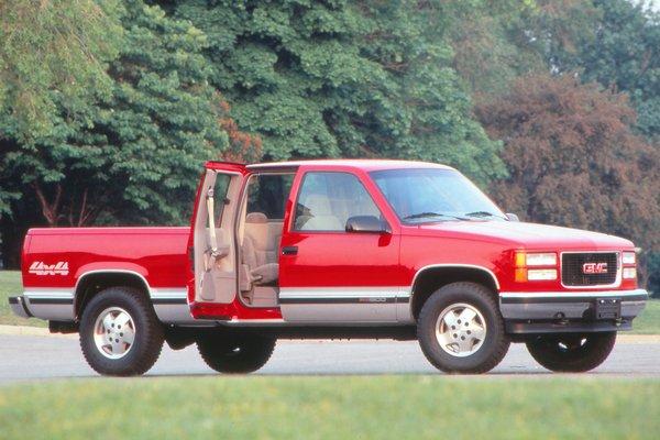 1996 GMC Sierra extended cab