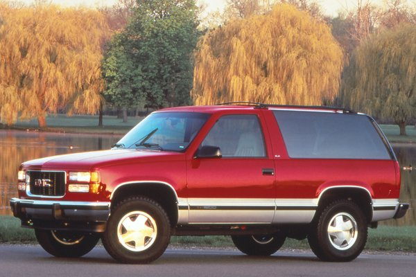 1996 GMC Yukon 2d