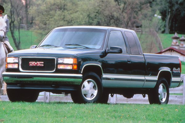 1997 GMC Sierra extended cab