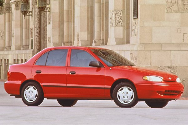 1996 Hyundai Accent sedan