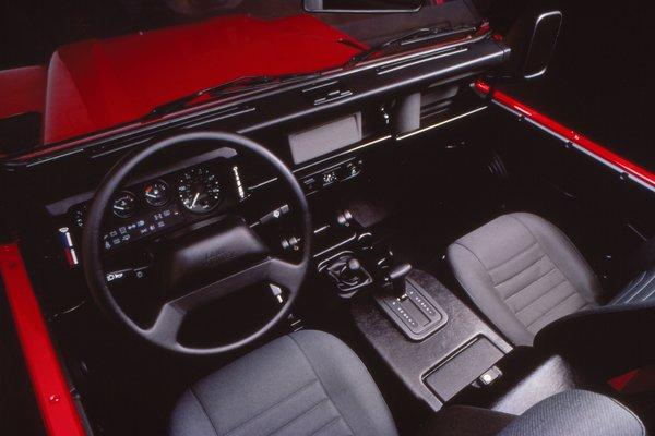 1997 Land Rover Defender 90 Interior