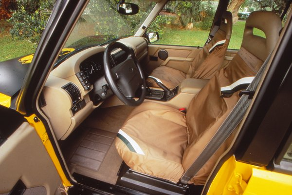 1997 Land Rover Discovery XD Interior