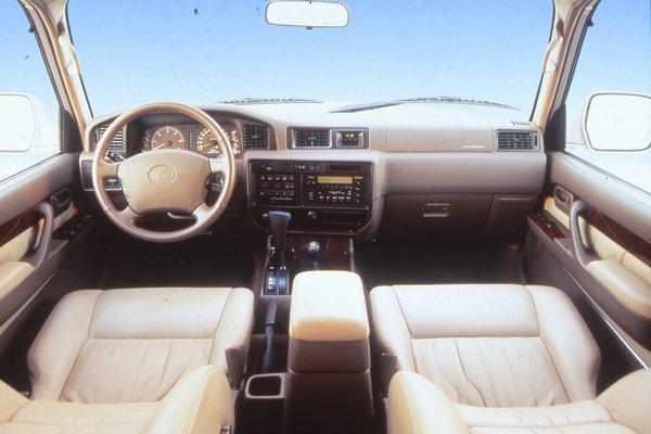 1996 Lexus LX 450 Interior