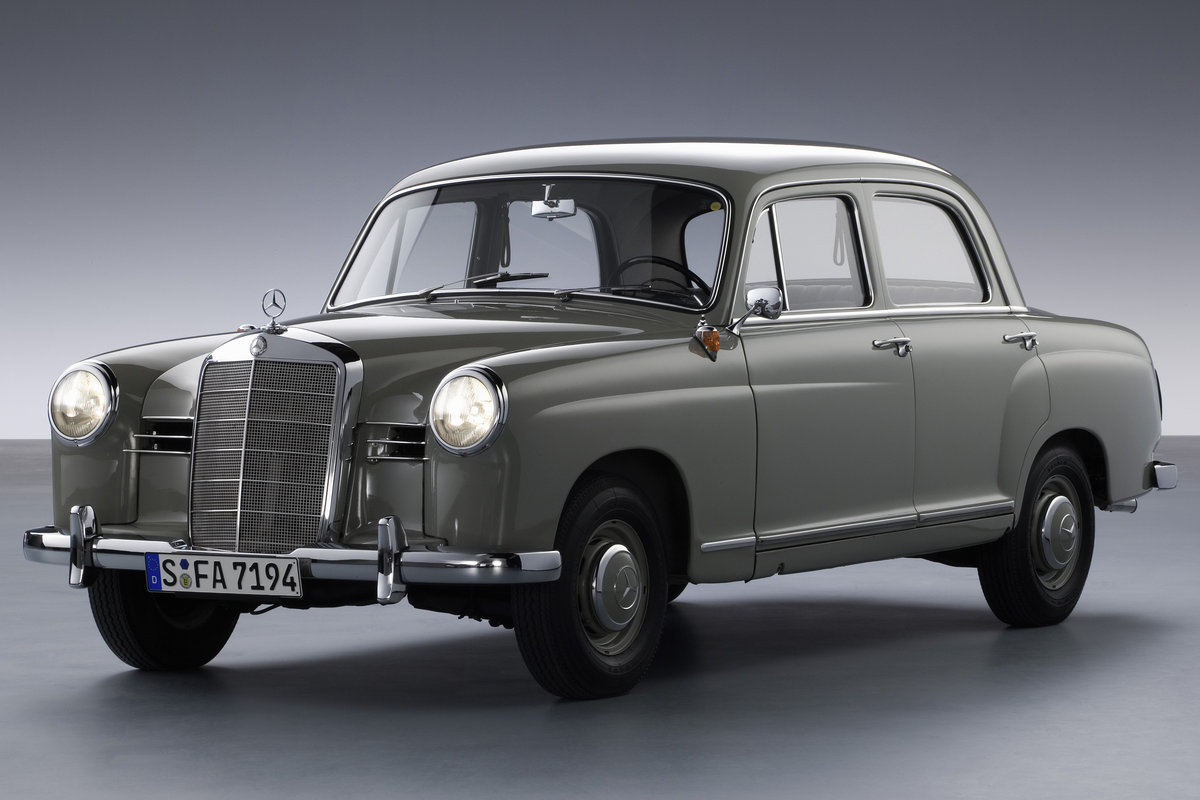Cars Com Chicago >> 1958 Mercedes-Benz 180 Sedan pictures