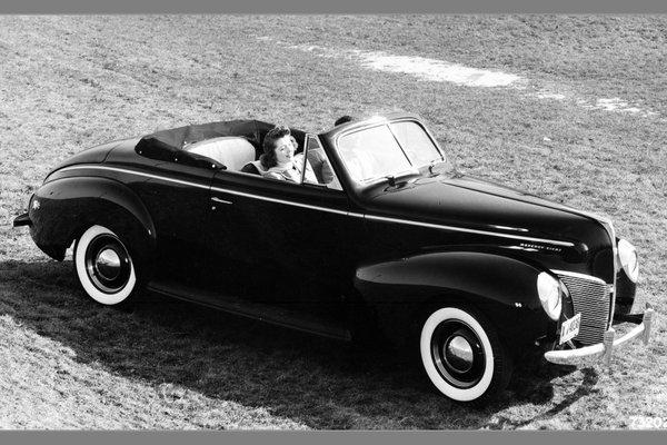 1940 Mercury 09A Convertible Coupe