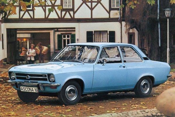 1971 Opel Ascona 2d
