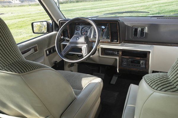 1984 Plymouth Voyager Interior