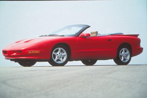 1996 Pontiac Firebird convertible