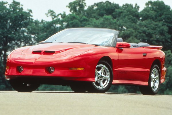 1997 Pontiac Firebird Trans Am convertible