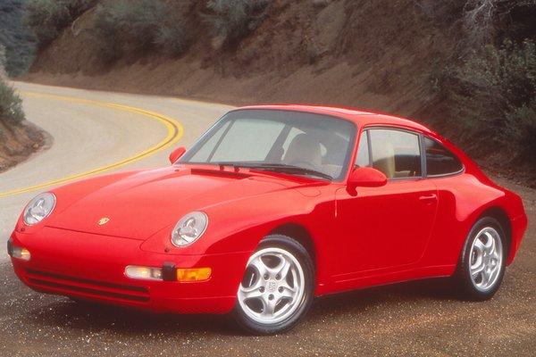 1997 Porsche 911 Carrera coupe