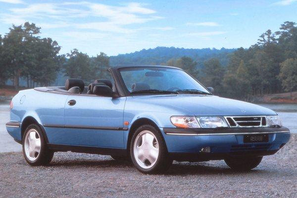 1996 Saab 900 convertible