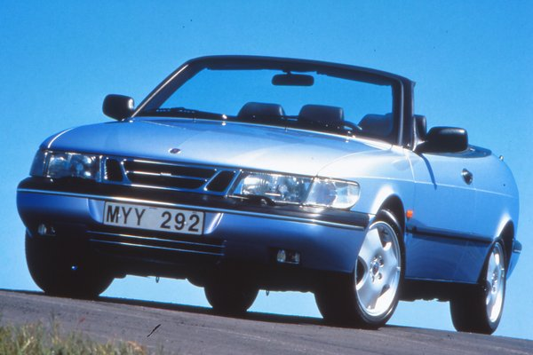 1997 Saab 900 convertible