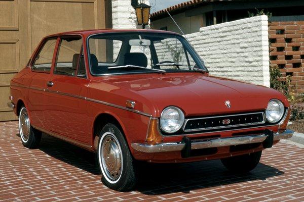 1971 Subaru FF1 2d sedan