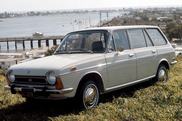 1971 Subaru FF1 4d wagon