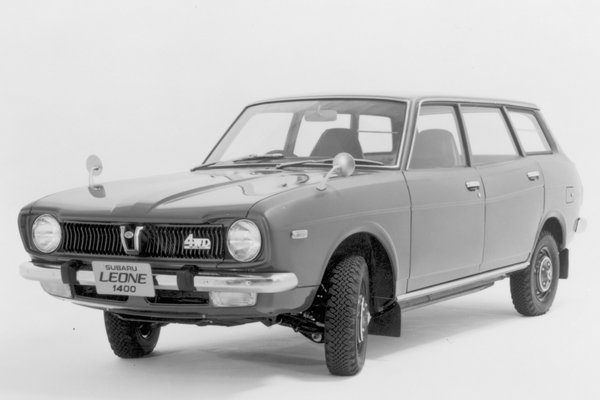 1973 Subaru DL 4d wagon