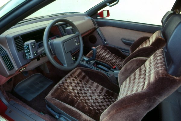 1985 Subaru XT Interior