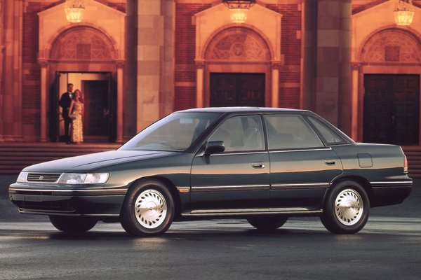 1990 Subaru Legacy sedan