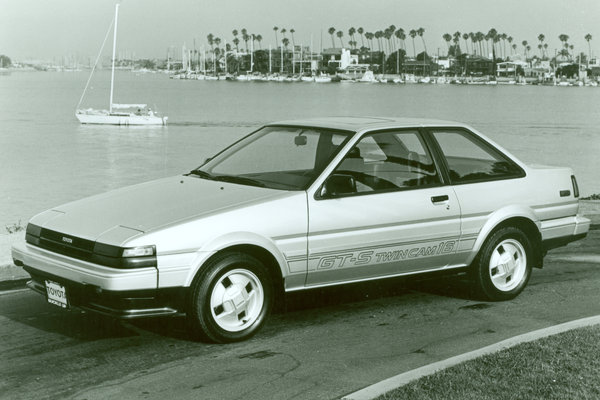1984 Toyota Corolla GT-S coupe
