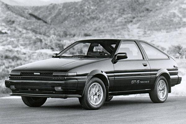 1984 Toyota Corolla GT-S fastback