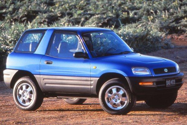 1996 Toyota RAV4 2d