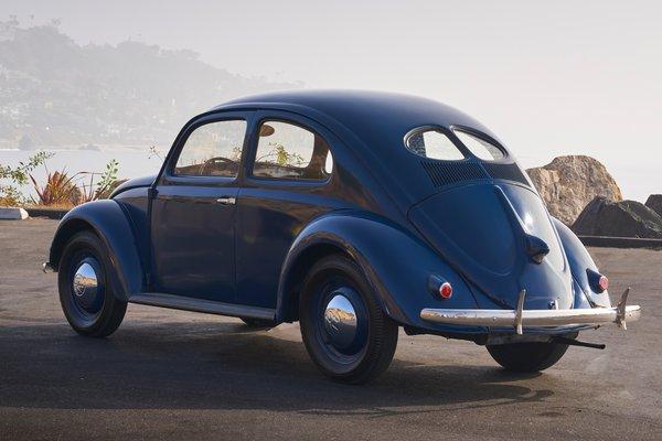 1949 Volkswagen Type 1 (Beetle) sedan