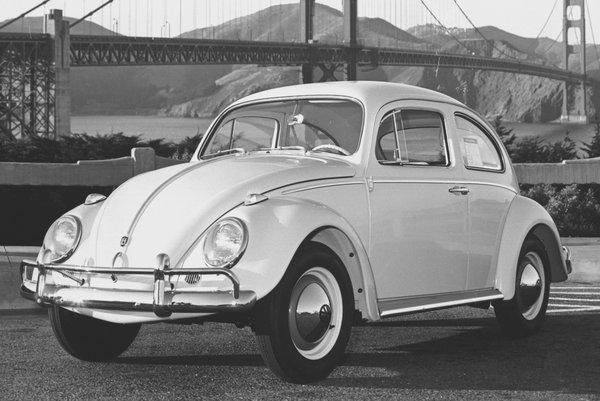 1961 Volkswagen Type 1 (Beetle) sedan
