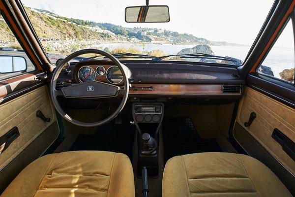 1977 Volkswagen Dasher 2d HB Interior