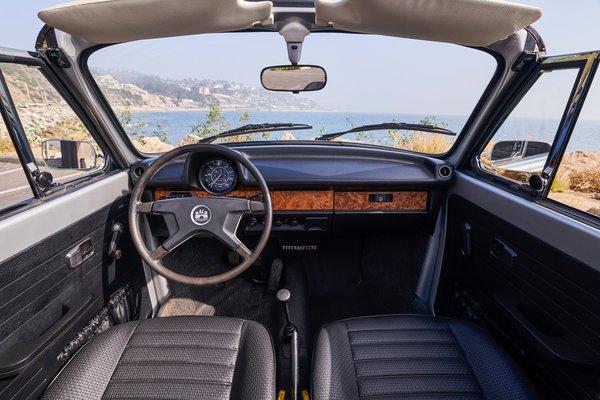 1979 Volkswagen Beetle convertible Interior