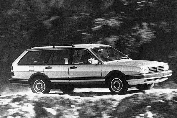 1987 Volkswagen Quantum 4d wagon