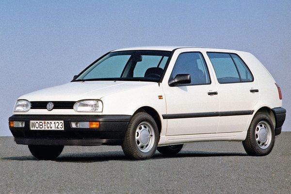 1993 Volkswagen Golf 4d