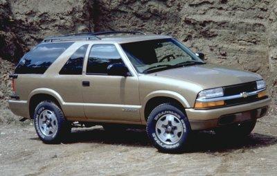 2000 Chevrolet 2-door Blazer LS