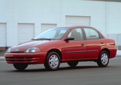 2000 Chevrolet Metro Lsi Sedan