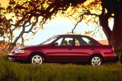 2000 Chevrolet Prizm Lsi Sedan