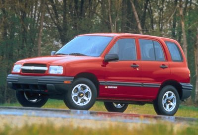 2000 Chevrolet Tracker 4-door