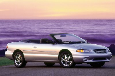 2000 Chrysler Sebring Convertible Limited