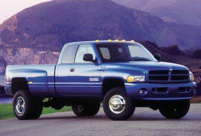 2000 Dodge Ram 3500 4x4 Quad Cab