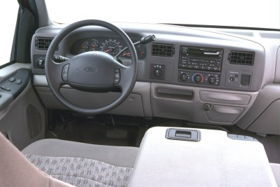 2000 Ford F350 Car Interior Design