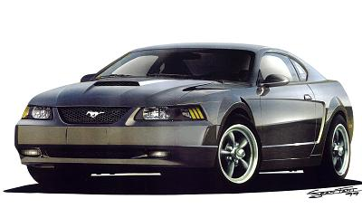 2000 Ford Mustang Concept