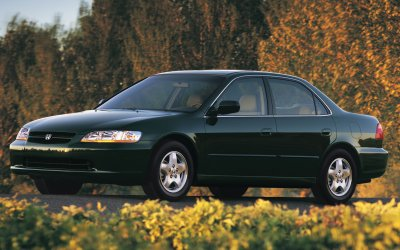 2000 Honda Accord EX Sedan V-6