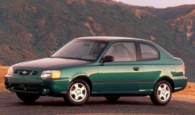 2000 Hyundai Accent GS Hatchback